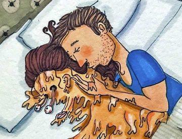 20 откровени илюстрации, в които всяко момиче ще познае себе си | Papataci.com – за твоето свободно време