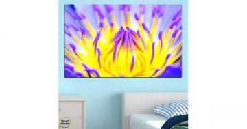 Картина пано за стена от 1 част с тропическа водна лилия – HD-548-1 – Smart Choice