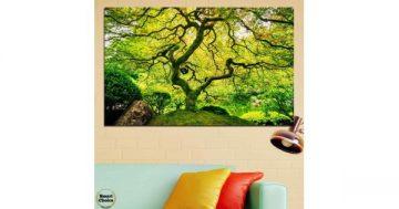 Картина пано за стена от 1 част с красиво необикновено дърво – HD-157-1 – Smart Choice
