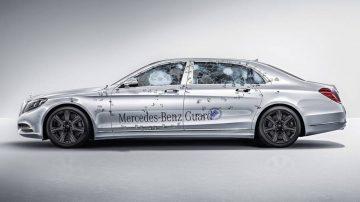 Mercedes-Maybach S600 Guard – най-защитената кола в света