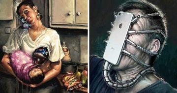 18 илюстрации, разкриващи как модерните технологии влияят върху живота ни   Papataci.com – за твоето свободно време