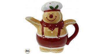 "Коледен чайник 21 см. ""Коледно мече"". Модел 22-6458 – Smart Choice"
