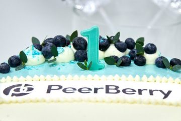 Peerberry стана на 1 година и вече има над 3000 инвеститора