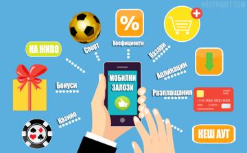 Мобилни залози през апликации и мобилни версии на букмейкърите