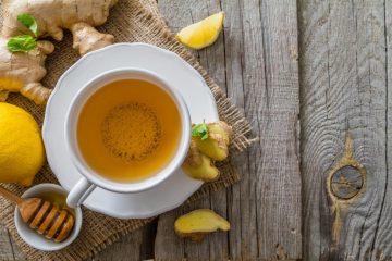 Джинджифил с Мед и Лимон