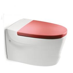 KHROMA стояща тоалетна за високо казанче с капак плавно затваряне | Онлайн магазин Бани Рока