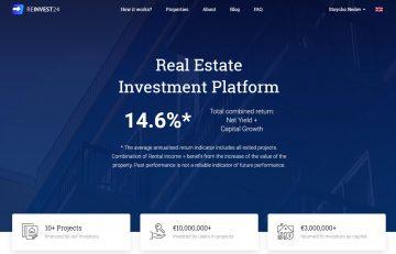 Reinvest24 – инвестиране в недвижими имоти и доход от наем от €100