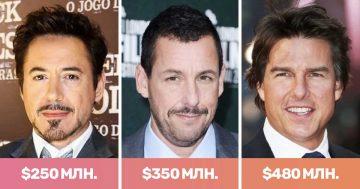 Топ 20 на най-богатите актьори в света | Papataci.com – за твоето свободно време