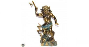 Статуетка на Зевс богът на небето, гръмотевиците и светкавиците – 25 см – Smart Choice