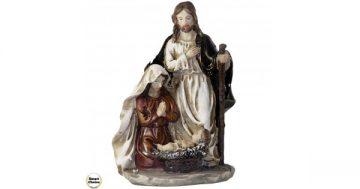 """Коледна статуетка """"Рождество Христово"""" 21 см. Модел 23-7231 – Smart Choice"""