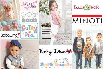 Бебешки и детски дрехи онлайн на евтини цени от Англия