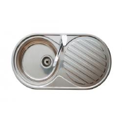 DUO кухненска мивка с десен отцедник | Онлайн магазин Бани Рока