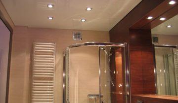 Ремонт на баня. Окачен таван.