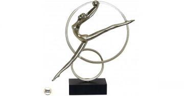 Статуетка фигура от полирезин – Гимнастичка с топка 35 см. Модел 81-7251 – Smart Choice