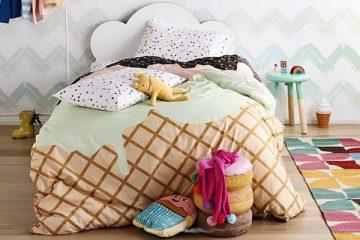 Украсени детски комплекти спално бельо | Високи Токчета