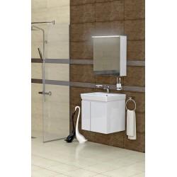 Комплект мебел и шкаф за баня MN 55 см | Онлайн магазин Бани Рока