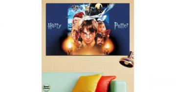 Картина пано за стена от 1 част с героите от филмите за Хари Потър – HD-460-1 – Smart Choice