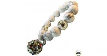 Дамска гривна от естествени камъни фасетиран Хаулит – DM-2422 – Smart Choice