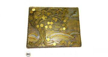 """Сувенир – Пано декорация за стена """"Буря в гората"""" – 30 см. Модел DM-9030 – Smart Choice"""