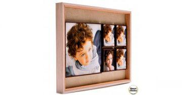 Луксозна магнитна рамка за пет снимки – 41 см. Модел F-73994 – Smart Choice