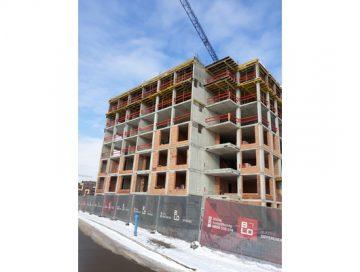 Етап на строеж на сграда MONA