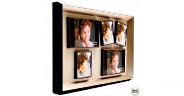 Луксозна магнитна рамка за пет снимки – 44 см. Модел F-73997 – Smart Choice