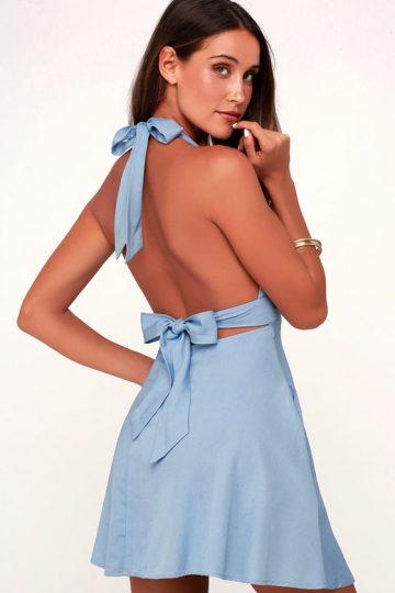 5 Невероятно стилни начини да носите халтер рокля – Петрич News