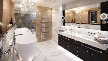 Дизайнерски идеи за просторна баня | Блог за нещата от живота Tunko.info