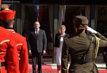 Румен Радев се срещна с атрактивната хърватска премиерка СНИМКИ | Блиц