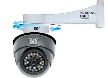 Ценни предимства на куполните въртящи се камери