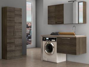 Мивка с шкаф за пералня за кухня или баня – Българските статии