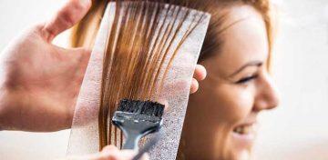 Боядисаната коса може да изглежда жива