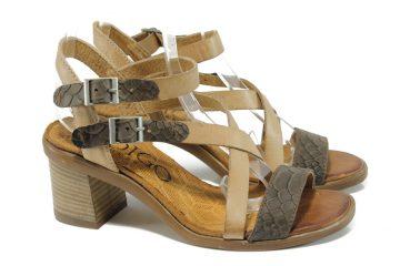 Дамски сандали – с ток