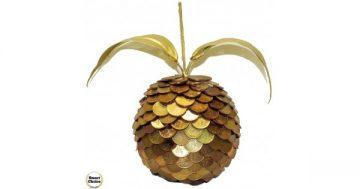 Сувенир – Златната ябълка на изобилието – 20 см. Модел DM-9041 – Smart Choice