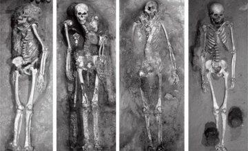 Загадката на необичайните скелети на гиганти от племето Моче