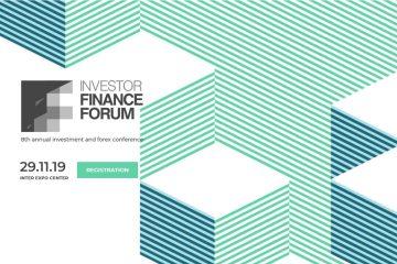 Посетете Investor Finance Forum 2019 с промо код за 25% отстъпка