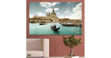 Картина пано за стена от 1 част с панорамен изглед от Венеция – HD-050-1 – Smart Choice
