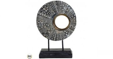 """Декоративна статуетка пластика – """"Вълшебен кръг"""" – 28 см. Модел – 81-7995 – Smart Choice"""