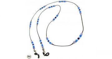 Връзка за очила от естествени камъни Аквамарин – DM-1077 – Smart Choice