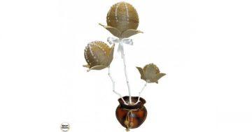 Сувенир – Ръчно изработено цвете с перлички 45 см. Модел DM-9065 – Smart Choice