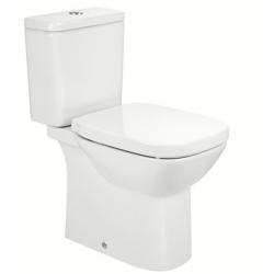DEBBA SQUARE Rimless Моноблок с долно захранване и седалка | Рокандо – хубава баня