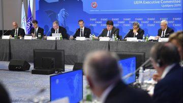 УЕФА решава в сряда за първенствата, трансферите и договорите на играчите