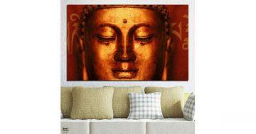 Картина пано за стена от 1 част с изображение на Буда – HD-006-1 – Smart Choice