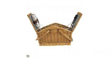 "Кошница за пикник с прибори за четирима – ""Турист"". Модел 86-8585 – Smart Choice"