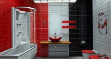 Цвят и декорации в новата баня | Високи Токчета