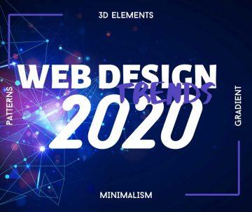 Тенденциите в уеб дизайна през 2020 | Студио Уеб Графика
