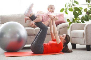 Следродилна гимнастика – защо е полезна и примерни упражнения – For Life