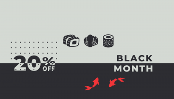 Black month » Месецът на промоциите в Sushiking