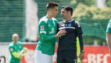 Груев дебютира за първия тим на Вердер