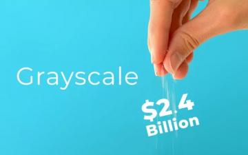 Grayscale купи криптовалута на стойност $ 2,4 милиарда за три дни – Cryptalaxy
